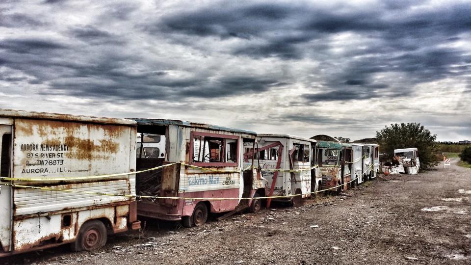 Ice Cream Truck Graveyard